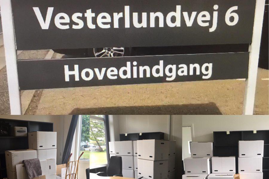 Vi flytter i nye lokaler på Vesterlundvej 6 i Herlev